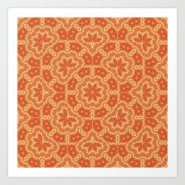 Digital Faux Tie-Dye Art Print