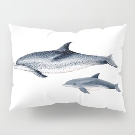 Atlantic spotted dolphin Pillow Sham