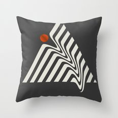 Visual Melt Throw Pillow