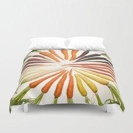 Carrot Color Wheel Duvet Cover