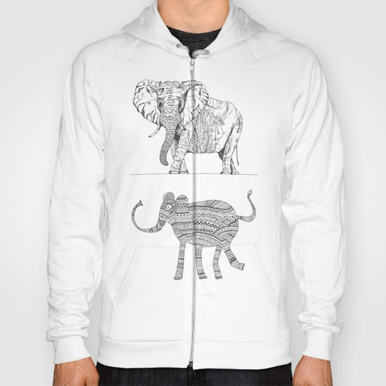 two ways to see one elephant Hoody