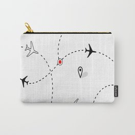 Flight Airplane Carry-All Pouch