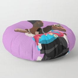 Mother and Child in Koala Pouch Floor Pillow
