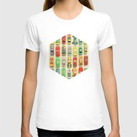 cars T-shirts featuring Car Park by Cassia Beck