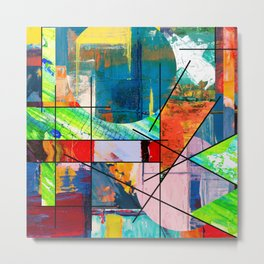 Escape Reality - Abstract Expressionism Metal Print