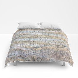 Sliced Bark Comforters