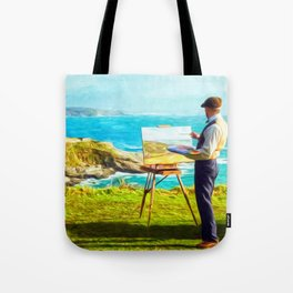 Leisurely Landscaping Tote Bag