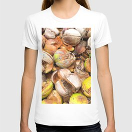 Coconut Husk Photography. Coir. Coconut Fibre. Coir Fibres T-shirt