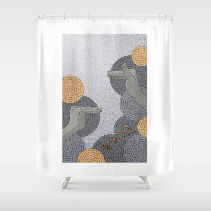 Hope Opens Heaven - (Artifact Series) Shower Curtain