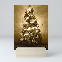 Christmas tree Mini Art Print