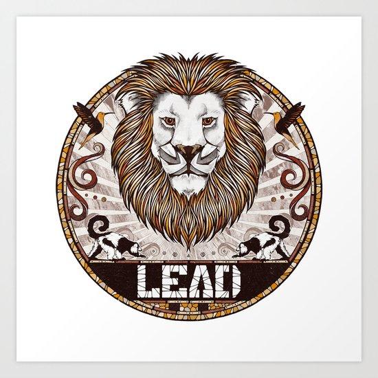 Lead Art Print