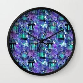 Ramadan Pattern Wall Clock