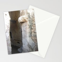 Colour Travel Photograph Rock and a hard place #2 Stationery Cards