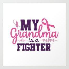 Fight Cancer Awareness Fighting Cancer Survivor Art Print