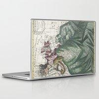 europe Laptop & iPad Skins featuring Dutch Print of Europe by anipani