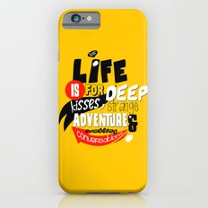 Life is for deep kisses... iPhone 6s Slim Case