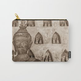 Wat Si Saket Buddhas V, Vientiane, Laos Carry-All Pouch