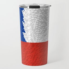 Extruded Flag of Chile Travel Mug