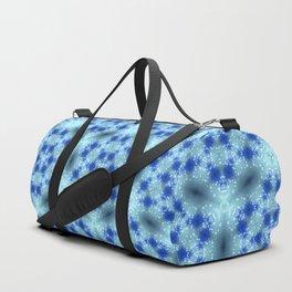 Delicate Snowflakes Duffle Bag