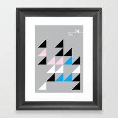 14_Wingdings_y Framed Art Print