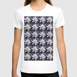 flower and nature - blue flower 3 T-shirt