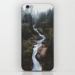 Lava Canyon iPhone Skin