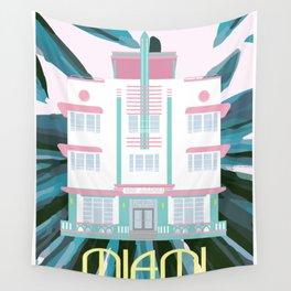 Miami Landmarks - McAlpin Wall Tapestry