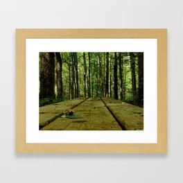 plank Framed Art Print