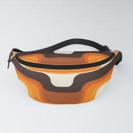 Mid-Century Modern Meets 1970s Orange Fanny Pack
