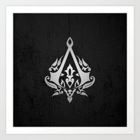 assassins creed Art Prints featuring ASSASSINS creed    by Thorin