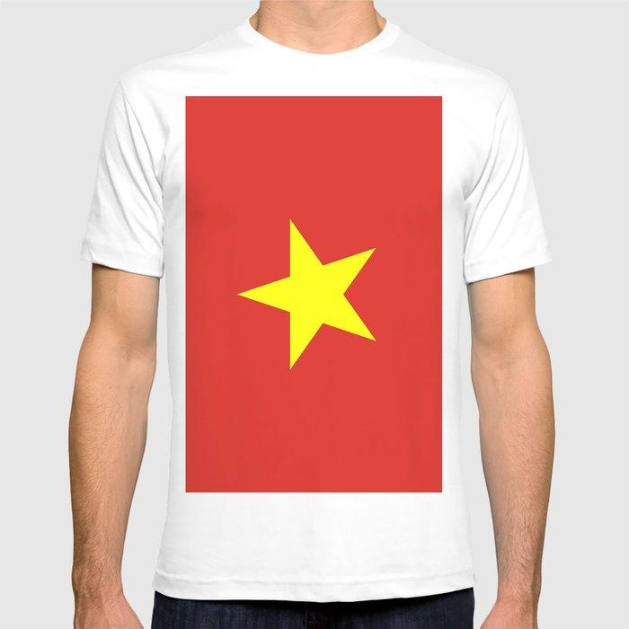 66b8a080f77 Flag Of Vietnam T-shirt by nevillehawkins