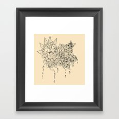Shine a Little Brighter Framed Art Print