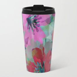 Lily Blooms Travel Mug