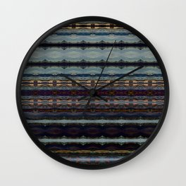 Bending Mountains Before Work Wall Clock