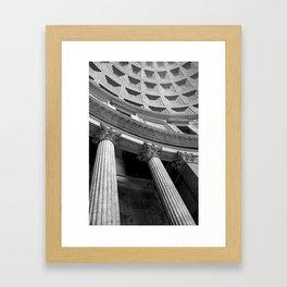 Dome Sweet Dome Framed Art Print