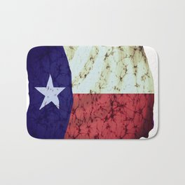 Texas flag Bath Mat
