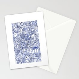 Portugal collage Stationery Cards