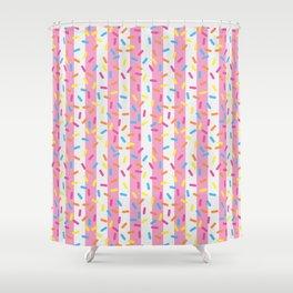 Birthday Ice Cream Party Shower Curtain