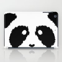 boobs iPad Cases featuring Panda Boobs by Lizard Illustration