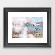new york spring Framed Art Print