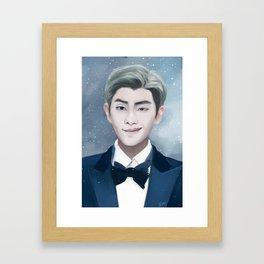 Kim Namjoon / Rap Monster / BTS Framed Art Print