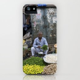 Limes Lemons and spices iPhone Case