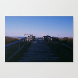 Boardwalk on the Shore Canvas Print