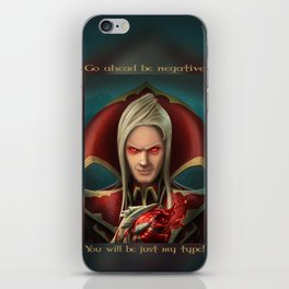 Vladimir portrait iPhone Skin
