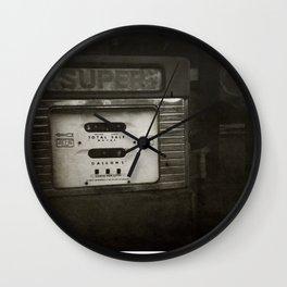 { super } Wall Clock