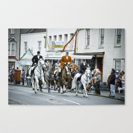 Boxing day Fox Hunt Canvas Print