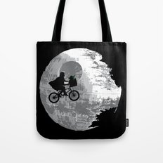 Yoda Phone Home Tote Bag