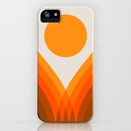 Golden Valley iPhone Case
