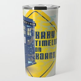 Doctor Who Tardis - Baby Timelord on Board Travel Mug