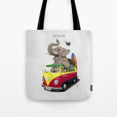 Pack the Trunk Tote Bag